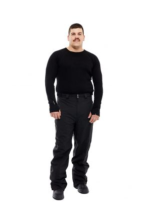 Cartel Arctic Mens Plus Size Snow Pant Black 2XL-9XL