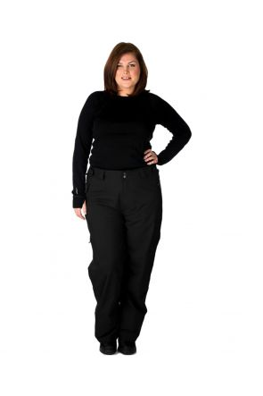 Cartel Kicker Womens Ski Pant Black - Front