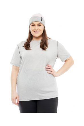 Wilderness Wear Unsiex Plus Size Cumulo150 Short Sleeve Tee Merino Wool Top