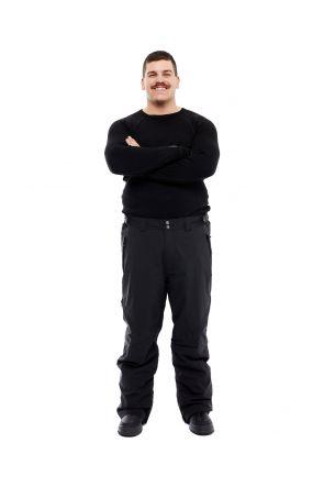 XTM Argentina Mens Plus Size Snow Pant Black Sizes 2XL - 7XL