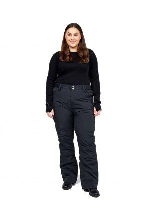 XTM Smooch II Womens Plus Size Ski Pant Black Sizes 18 - 30